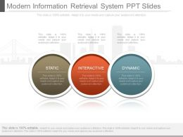 App Modern Information Retrieval System Ppt Slides