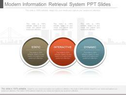 App Modern Information Retrieval System Ppt Slides