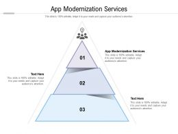 App Modernization Services Ppt Powerpoint Presentation Summary Icons Cpb