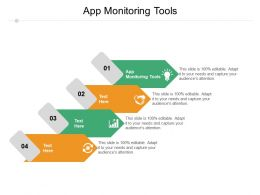 App Monitoring Tools Ppt Powerpoint Presentation Professional Backgrounds Cpb