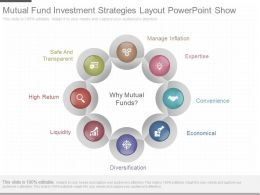 App Mutual Fund Investment Strategies Layout Powerpoint Show