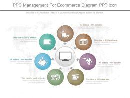 app_ppc_management_for_ecommerce_diagram_ppt_icon_Slide01
