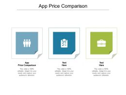 App Price Comparison Ppt Powerpoint Presentation Inspiration Graphic Images Cpb