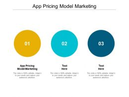 App Pricing Model Marketing Ppt Powerpoint Presentation Model Picture Cpb
