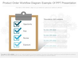 App Product Order Workflow Diagram Example Of Ppt Presentation