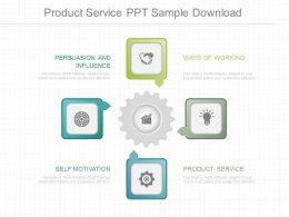 App Product Service Ppt Sample Download