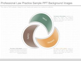 App Professional Law Practice Sample Ppt Background Images