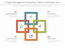 App Project Management Powerpoint Slide Presentation Tips