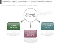 App Retirement Planning Template Powerpoint Presentation Examples