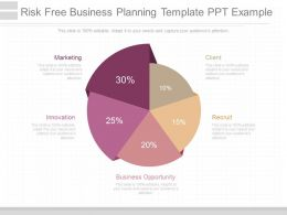 App Risk Free Business Planning Template Ppt Example