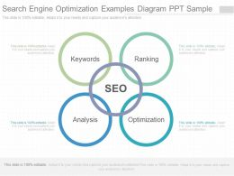 App Search Engine Optimization Examples Diagram Ppt Sample