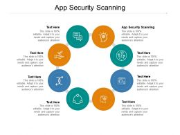 App Security Scanning Ppt Powerpoint Presentation Icon Mockup Cpb