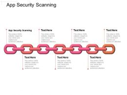 App Security Scanning Ppt Powerpoint Presentation Summary Gridlines Cpb