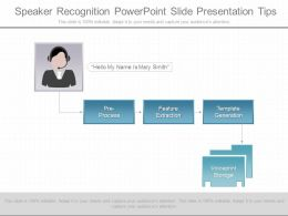 App Speaker Recognition Powerpoint Slide Presentation Tips