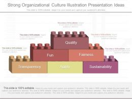 App Strong Organizational Culture Illustration Presentation Ideas