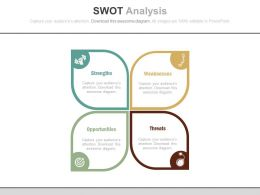 app_swot_analysis_for_management_practices_flat_powerpoint_design_Slide01