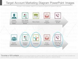 App Target Account Marketing Diagram Powerpoint Images