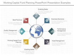 App Working Capital Fund Planning Powerpoint Presentation Examples