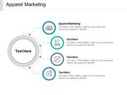Apparel Marketing Ppt Powerpoint Presentation Diagram Lists Cpb