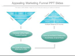 Appealing Marketing Funnel Ppt Slides
