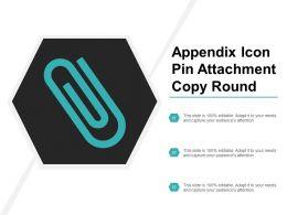 Appendix Icon Pin Attachment Copy Round