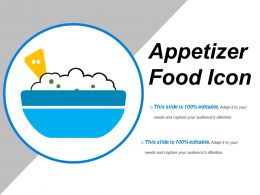 Appetizer Food Icon