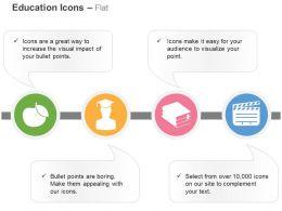 Apple Collegian Treatise Cinematography Ppt Icons Graphics