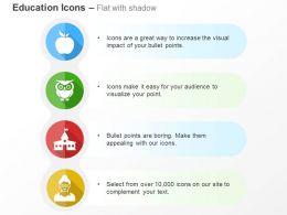 apple_owl_school_teacher_ppt_icons_graphics_Slide01