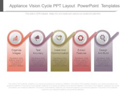 Appliance Vision Cycle Ppt Layout Powerpoint Templates