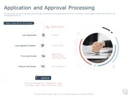 Application And Approval Processing Ppt Powerpoint Presentation Infographic