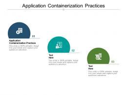 Application Containerization Practices Ppt Powerpoint Presentation Portfolio Slide Portrait Cpb