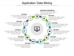 Application Data Mining Ppt Powerpoint Presentation Icon Guidelines Cpb