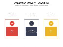 Application Delivery Networking Ppt Powerpoint Presentation Pictures Summary Cpb