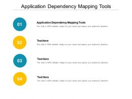 Application Dependency Mapping Tools Ppt Powerpoint Presentation Summary Gallery Cpb