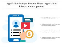 Application Design Process Under Application Lifecycle Management