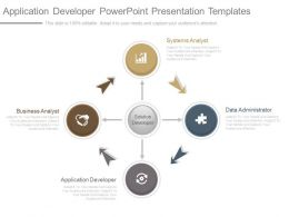 Application Developer Powerpoint Presentation Templates