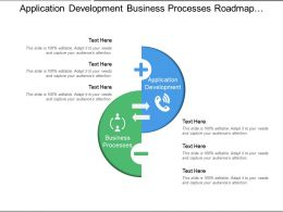 Application Development Business Processes Roadmap Planning Business Inputs