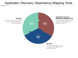 Application Discovery Dependency Mapping Tools Ppt Powerpoint Presentation Template Cpb