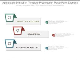 Application Evaluation Template Presentation Powerpoint Example