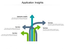 Application Insights Ppt Powerpoint Presentation Outline Template Cpb