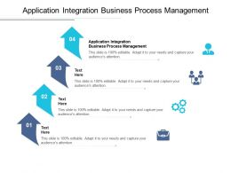 Application Integration Business Process Management Ppt Powerpoint Ideas Cpb