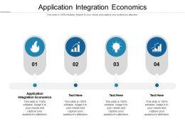 Application Integration Economics Ppt Powerpoint Presentation Outline Inspiration Cpb