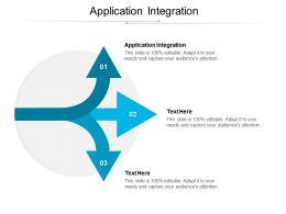 Application Integration Ppt Powerpoint Presentation Slides Inspiration Cpb