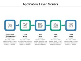 Application Layer Monitor Ppt Powerpoint Presentation Ideas Portrait Cpb