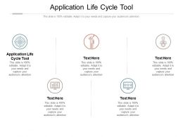 Application Life Cycle Tool Ppt Powerpoint Presentation Gallery Outline Cpb