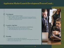 Application Market Launch Development Process Contd L1444 Ppt Infographics