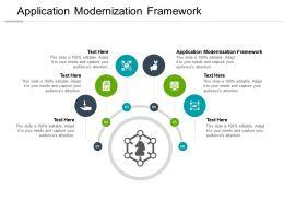 Application Modernization Framework Ppt Powerpoint Presentation Inspiration Slide Portrait Cpb