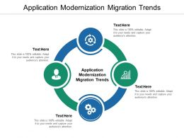 Application Modernization Migration Trends Ppt Powerpoint Presentation Picture Cpb