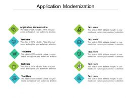 Application Modernization Ppt Powerpoint Presentation Portfolio Graphics Example Cpb