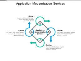 Application Modernization Services Ppt Powerpoint Presentation Inspiration Guide Cpb